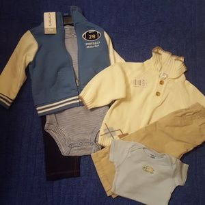 NWT 12 MONTH OUTFITS