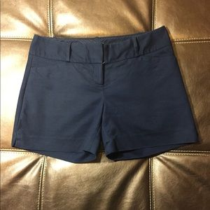 Navy Blue Limited Shorts