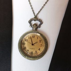 Pocket watch necklace from Modcloth