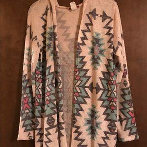 Silvercute Cardigan Sweater - Size Large