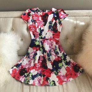 Milly 'For Design Nation' Floral Dress, 0