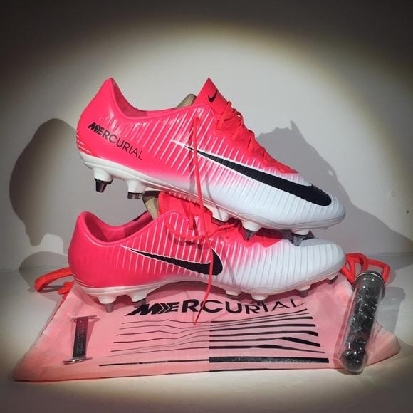 best service e30e3 a5a23 Nike Mercurial Vapor XI SG-PRO 11.5 racer pink NWT