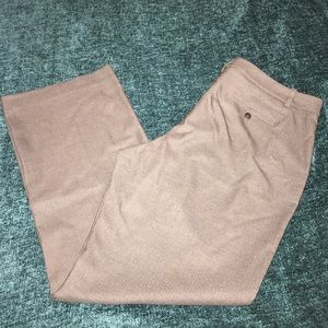 Merona Wide Leg Trousers - Size 18 - Light Brown