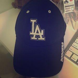 LA hat dodgers