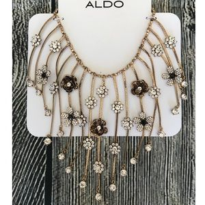 Aldo Statement Floral Necklace