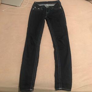 Women's True Religion brand skinny jeans