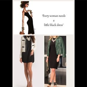 Etienne Aigner Designer Little Black Dress- NWT
