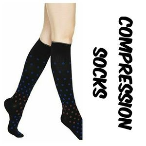 Accessories - Compression socks 20-30mmHg Polka dot M/L