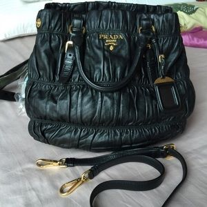 Preloved Prada Nappa Gaufre Leather Bag