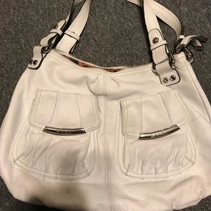 B. Makowsky white Hobo bag large