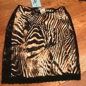 Cheetah Animal print skirt