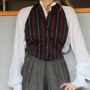 Ralph Ralph Lauren Striped Waist Coat Vest