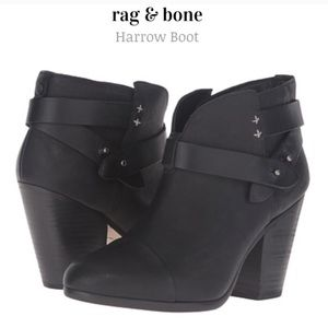 "Rag & Bone ""Harrow"" leather booties"