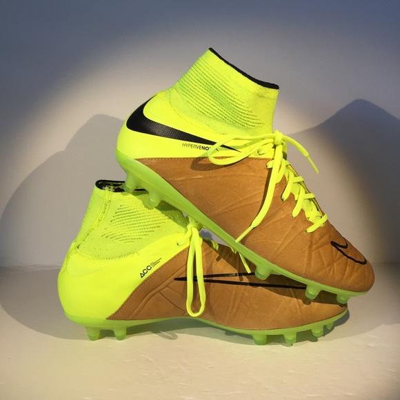 save off cc9fb b47e2 Nike Shoes | Hypervenom Phantom Ii Leather Fg Soccer Cleat | Poshmark