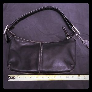 Coach Legacy Small Convertible Hobo Handbag 9564