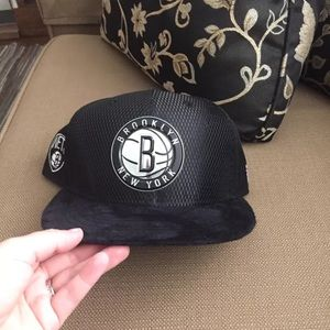 Brooklyn nets authentic hat NBA