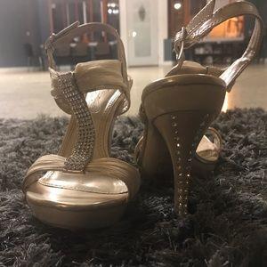 Occasion rhinestone heels