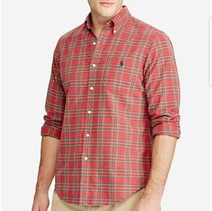 NWT Polo Ralph Lauren Men's Iconic Plaid Shirt(M)