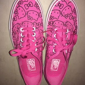 Hello Kitty Limited Edition Vans Authentic