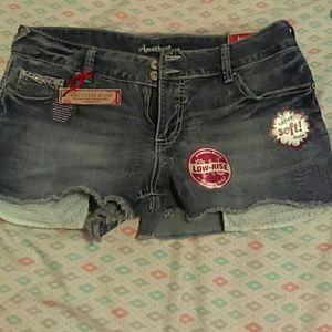 Amethyst shorts size  11 nwt