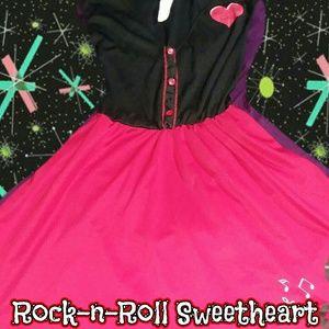 Halloween rockabilly Pinup  costume M