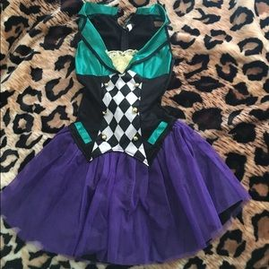 NWOT mad hatter costume size small