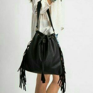 O'Neill ~ Melina fringe faux leather purse
