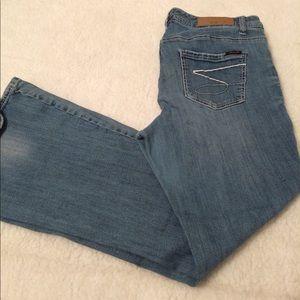 Seven 7 Luxe Women's Jeans Light Wash Denim Sz 16