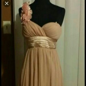 High low Light pink dress NWOT