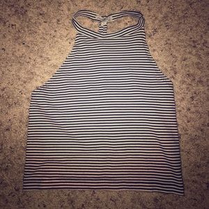 Black&white stripped shirt