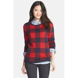 NWT Red Buffalo Plaid Sweater - Small