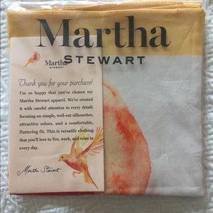 Martha Stewart designer scarf