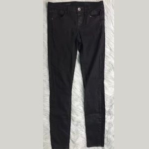 RARE $135 Madewell Skinny Skinny Coated Jeans