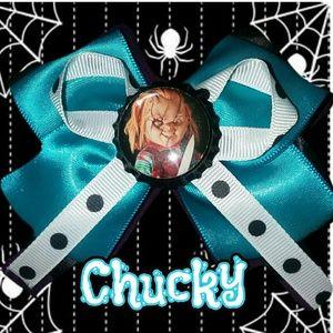 Psychobilly Horror Chucky Bow