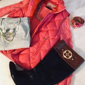Tommy Hilfiger Pink Puff Vest