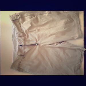 Lululemon cream shorts cargo board women's 4