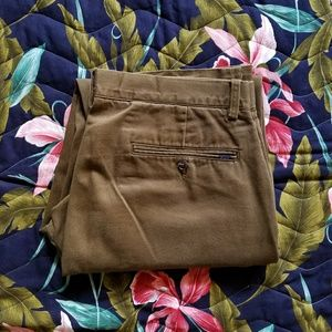 Authentic Polo Ralph Lauren Flat Front Khaki Olive