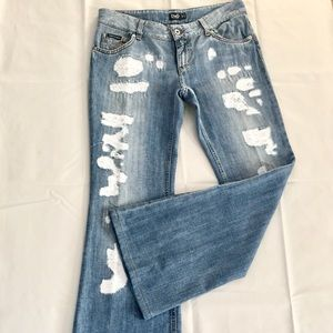 Dolce & Gabanna Distressed Jeans