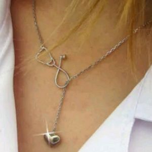 New Medical Doctor Stethoscope necklace