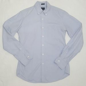 J. Crew Blue Slim Fit Oxford Shirt - Small