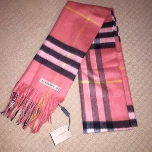 NWT Authentic Burberry Scarf!