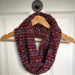 Anthropologie Madison 88 knit infinity scarf