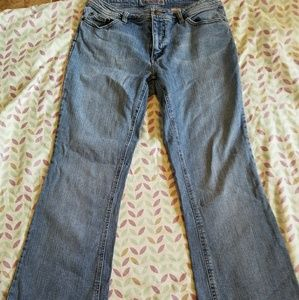 Faded Glory Stretch Boot Cut Jeans Size 12 T EUC