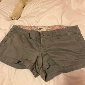 Gray American Eagle Shorts