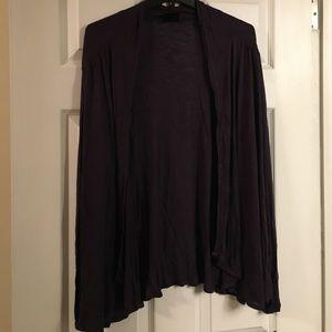 Long sleeve open shirt