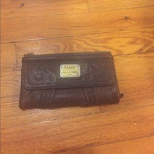 Fossil vintage wallet