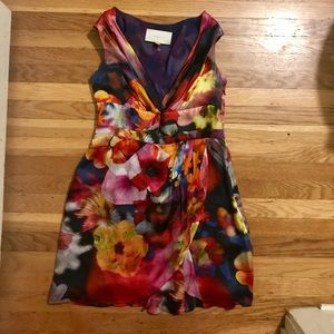 Silk Floral Print Leifsdottir Dress