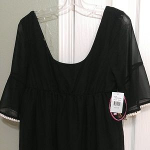 Medium Black Baby doll dress