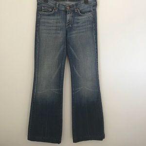 7 for all man kind Dojo jeans size 29