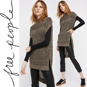 NWT🆕Free People Dusk Till Dawn Sweater Tunic